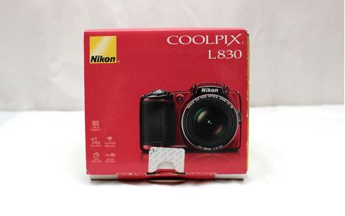 camara nikon coolpix l830 16 mp wide 34x zoom full hd