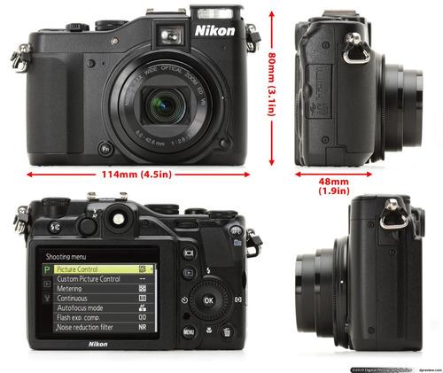 cámara nikon  coolpix p7000