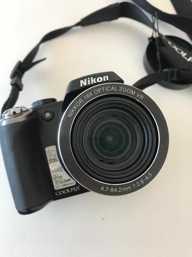 camara nikon coolpix p80 10.1 mp 18xoptical zoom 27-486mm