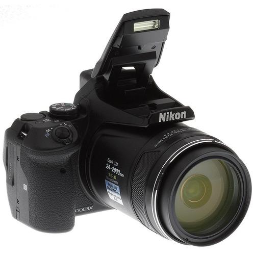 cámara nikon coolpix p900 16mpx zoom 83x wi-fi +16gb
