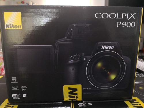 camara nikon coolpix p900 nueva sellada super zoom + extra