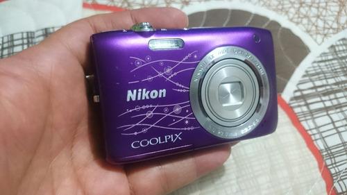 cámara nikon coolpix s2800