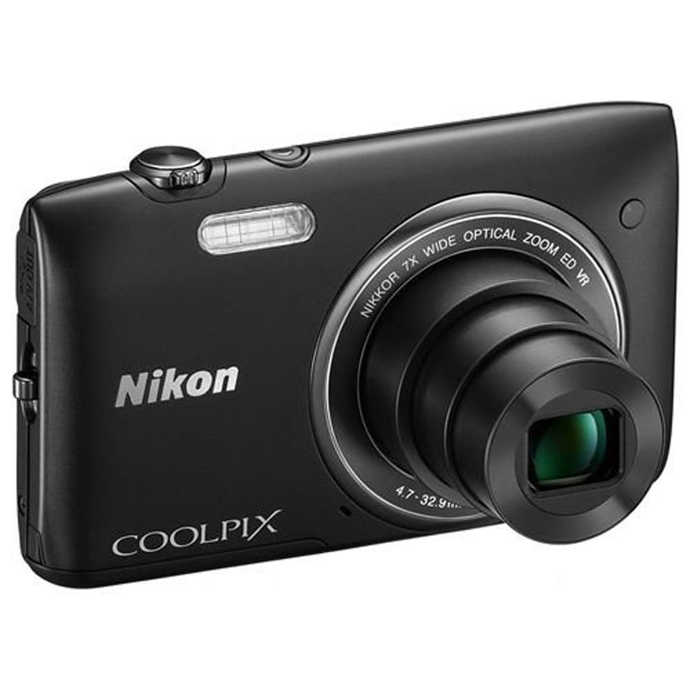 Nikon Coolpix S3500 Digital Camera New