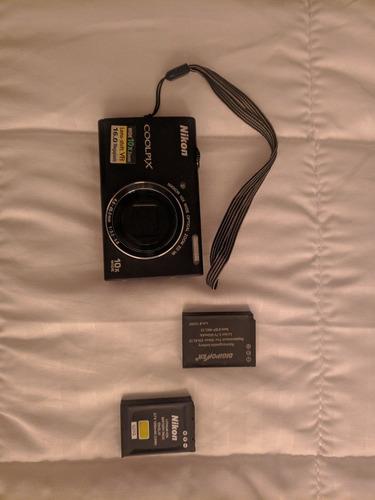 camara nikon coolpix s6200, zoom 10x, 16.0 megapixeles