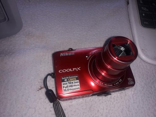 camara nikon coolpix s6300 full hd
