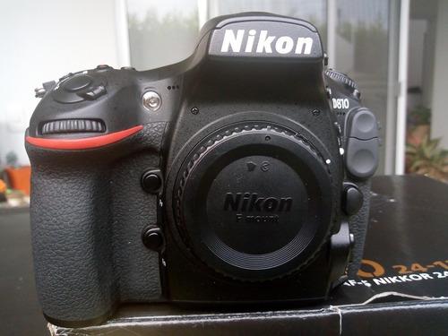 camara nikon d 810 body