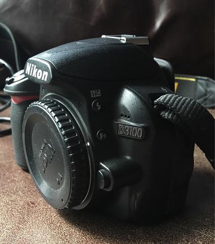 cámara nikon d3100 (cuerpo)