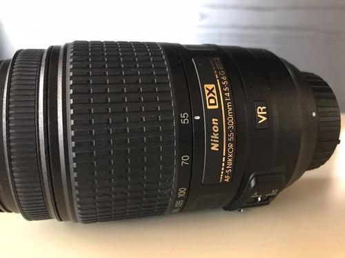 cámara nikon d3100 + lentes 18-55mm y 70-300mm + accesori