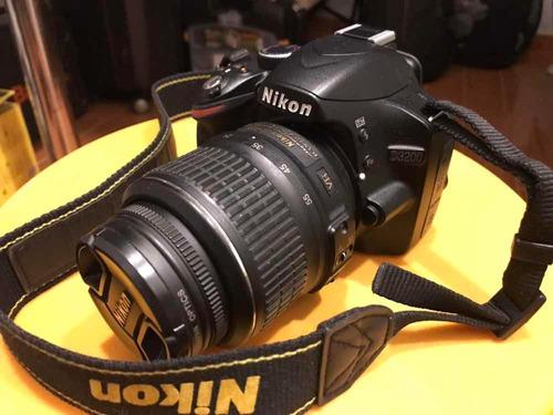 cámara nikon d3200 lente 18-55