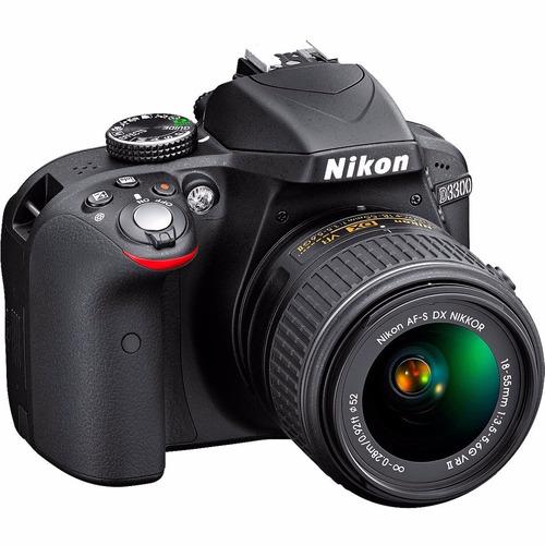 cámara nikon d3300+16gb+bolso super promoción.