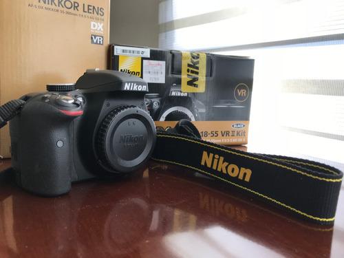 camara nikon d3300 + 2 lentes 18-55/55-300 nikkor a meses