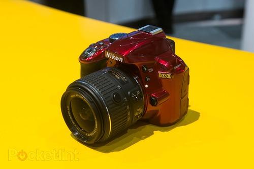 cámara nikon d3300 af-s dx  18-55mm f/3.5-5.6g vr ii wifi