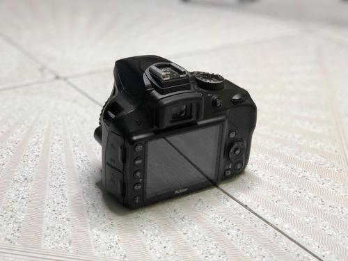 ¡cámara nikon d3300! kit lente 18-55mm vr y 55-200mm vr