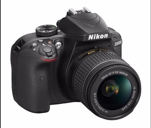 cámara nikon d3400 18-55 vr
