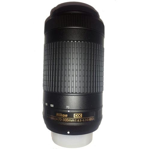 cámara nikon d3400 18-55mm + 16gb + lente 70-300mm adicional