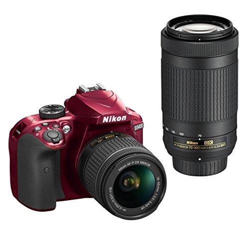 camara nikon d3400 w/ af-p dx nikkor 18-55mm f/3.5-5.6g vr