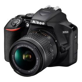 Càmara Nikon D3500 Kit 18-55mm 24,2mpx Full Hd.