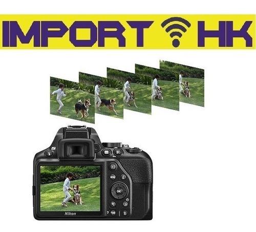 cámara nikon d3500 profesional red lente 18-55mm 32gb gratis