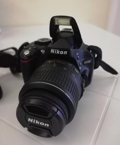cámara nikon d5100 + accesorios (550)