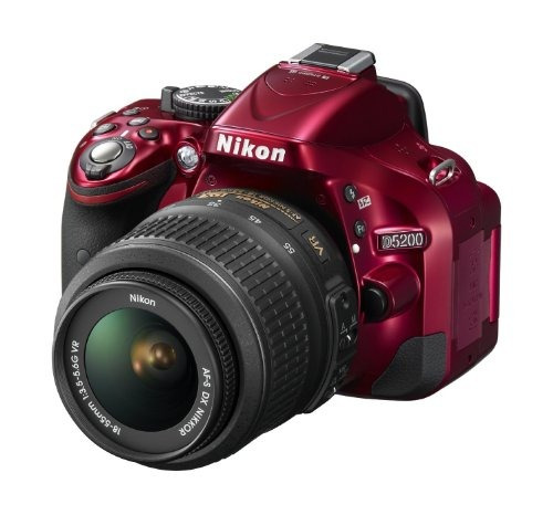 camara nikon d5200 cmos dslr with 18-55mm f/3.5-5.6 af-s