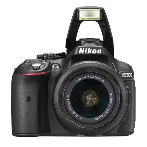 cámara nikon d5300 + 18 - 55 mm vr