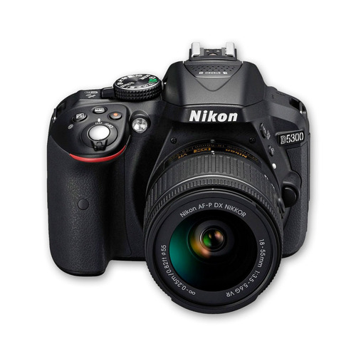 cámara nikon d5300 +18-55 +sd 16gb +maletín