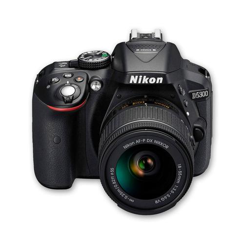 cámara nikon d5300 +18-55 +sd 8gb +maletín