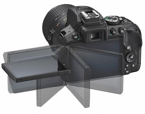 cámara nikon d5300+ 18-55mm vr + 16gb + bolso