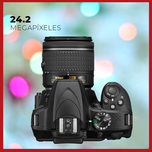 camara nikon d5300 18-55mm vr + 64gb + digital reflex cuotas