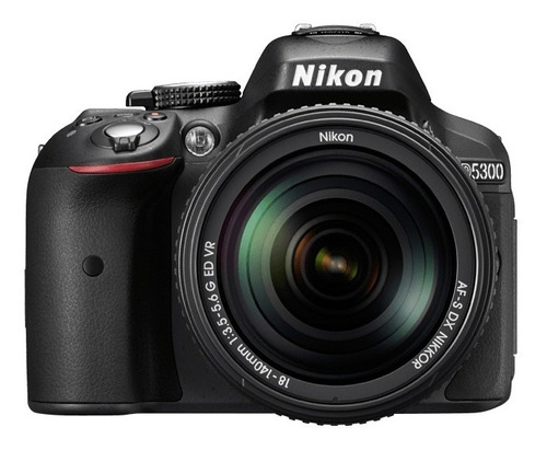 camara nikon d5300  24.1 mp wifi+ tripode + sd 16gb