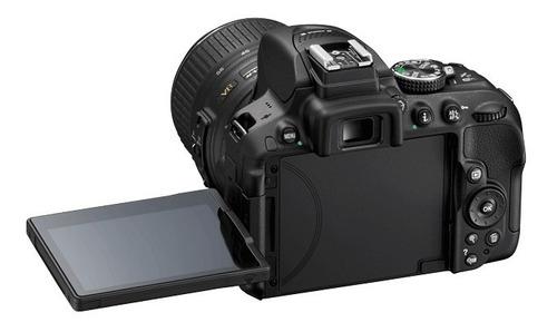 cámara nikon d5300 con wifi + lente 18-55mm 24,2mpx original