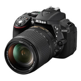 Camara Nikon D5300 Kit 18 55 +sd32gb+maletin