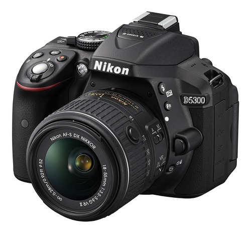 cámara nikon d5300 kit 18-55mm
