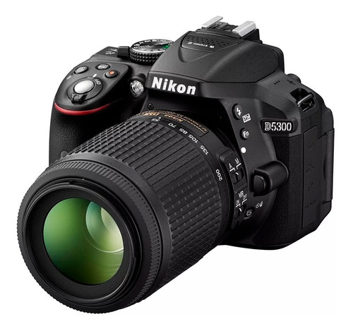 cámara nikon d5300 kit 18-55mm vr + 32gb.