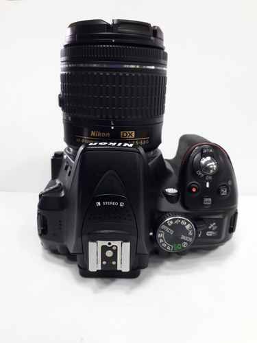 camara nikon d5300 lente 18-55 24mp video full hd
