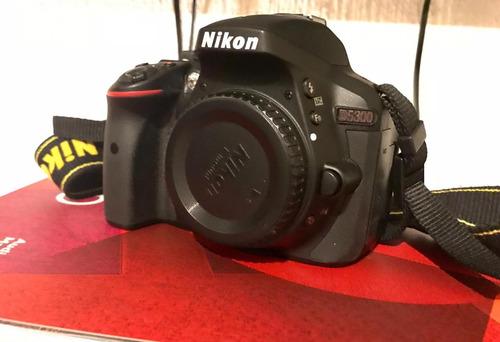 cámara nikon d5300 + lente 18 - 55