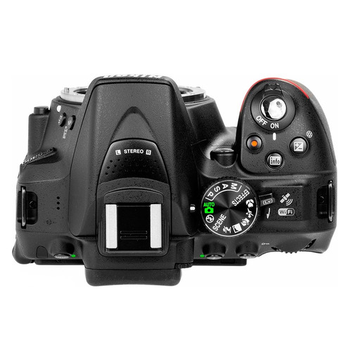 cámara nikon d5300 lente 18-55mm vr 24,2mpx wifi gps hd