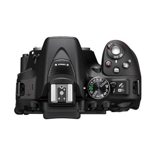 camara nikon d5300 lente af-p dx nikkor 18-55mm f/3.5-5.6