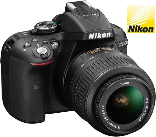 cámara nikon d5300 + memoria sd 32gb 80mb/s + estuche