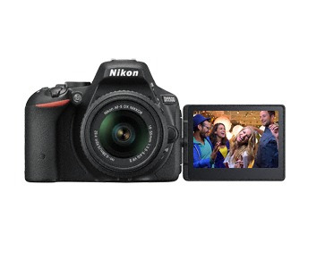 camara nikon d5500 24.2mp wifi touch + memoria 32 gb gratis