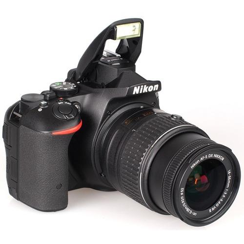 camara nikon d5500 24mp lente 18-140 wifi reflex profesional
