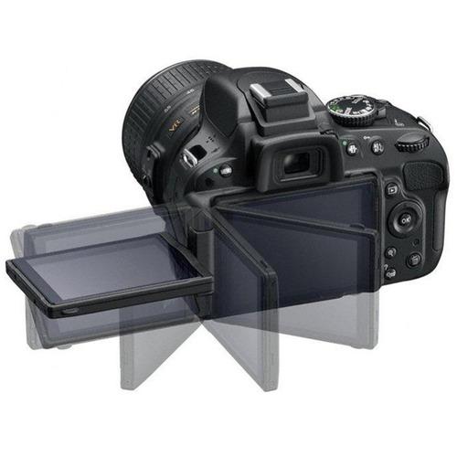 cámara nikon d5500 kit 18-55mm vr ii ¿ negro