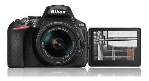cámara nikon d5600 24,2mpx kit 18-55mm full hd wifi