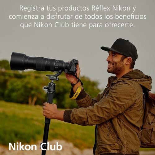 camara nikon d5600 kit 18-140mm + memoria 32gb
