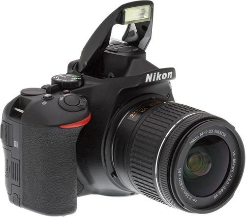 camara nikon d5600 kit 18-55 full hd 24mp + memo 32gb+ bolso