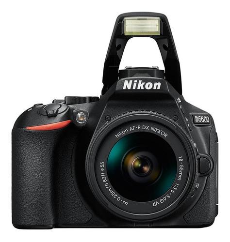 cámara nikon d5600 kit 18-55mm + 32gb + estuche