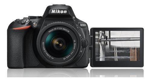 cámara nikon d5600 réflex 18-55mm + bolso + sd 32gb