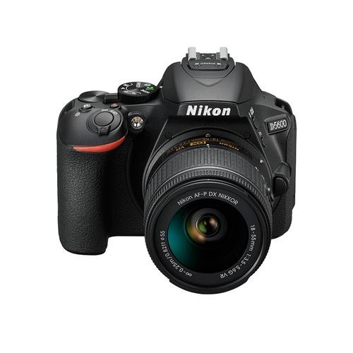 camara nikon d5600 reflex 18-55mm profesional + memoria sd !