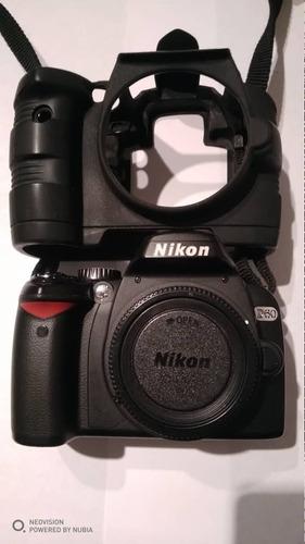 camara nikon d60 + lente 18-55mm nikon