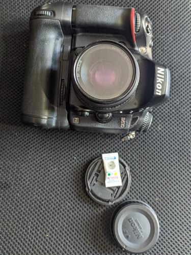 camara nikon d610 con grip + 50mm 1.8d